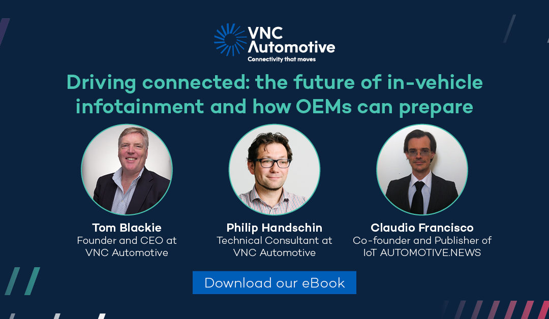 eBook: How can automakers prepare for the future of in-vehicle infotainment?